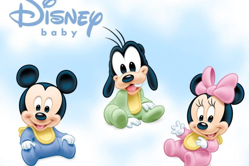 Baby Mickey Mouse and Friends Cute