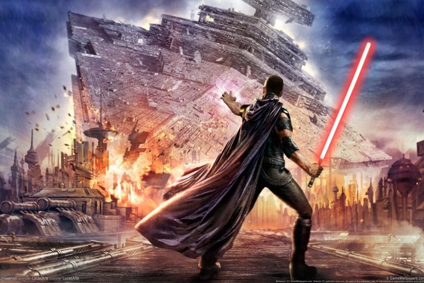 Preview wallpaper star wars, the force unleashed, lightsaber 2560x1440