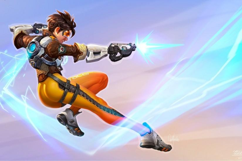 most popular overwatch tracer wallpaper 1920x1080 cell phone