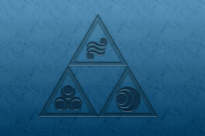 Triforce Wallpaper Green By