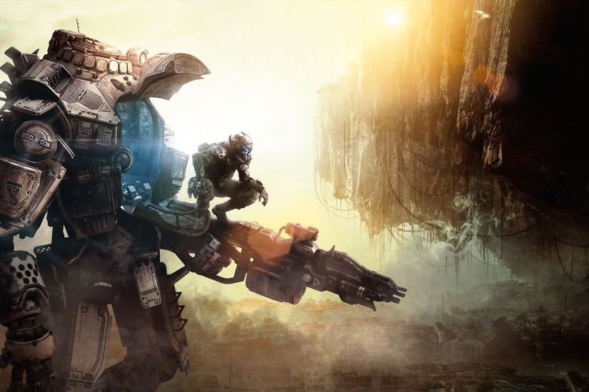 Preview wallpaper titanfall, game, heroes, robot 3840x2160