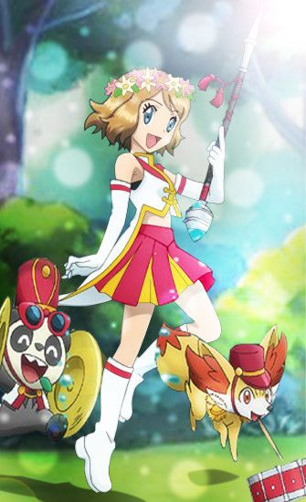 Pokemon XY Serena Wallpaper by Pishedieguin1 Pokemon XY Serena Wallpaper by  Pishedieguin1