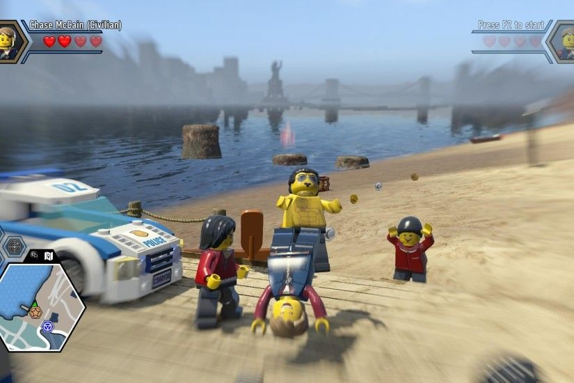 Lego City Undercover Wallpaper 1080p
