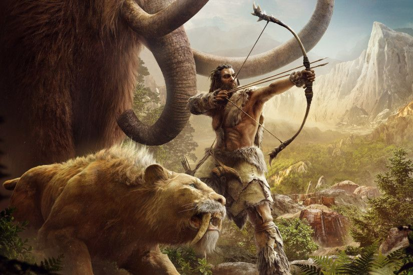 Video Game - Far Cry Primal Saber-Toothed Tiger Wallpaper