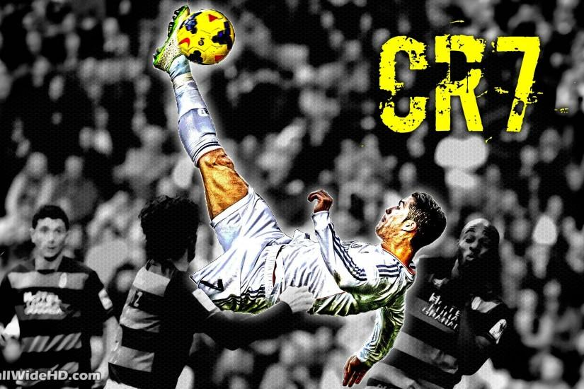 CR7 Real Madrid Overhead Kick Wallpaper Wide or HD | Artistic .