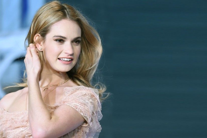 Lily James as Cinderella wallpapers Wallpapers) – HD Wallpapers