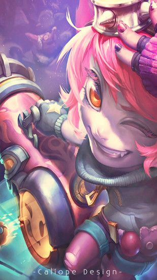 ... Wallpaper Para Celular - Riot Girl Tristana by MissCaliope
