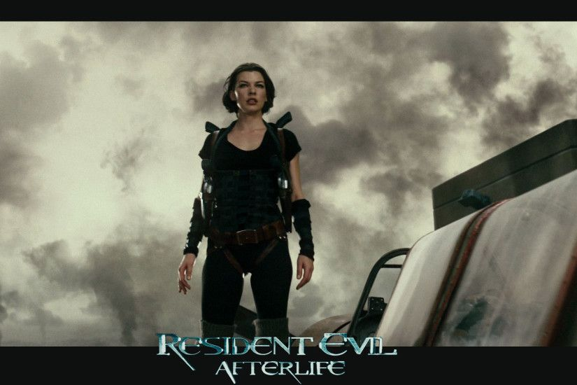 Milla Jovovich in Resident Evil Afterlife