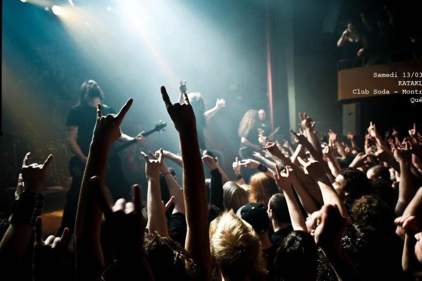 KATAKLYSM death metal heavy hard rock concert concerts crowd wallpaper .