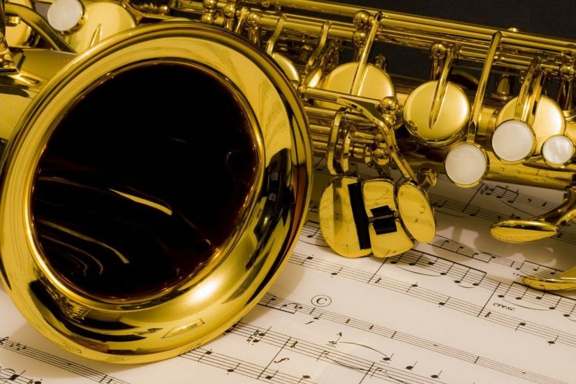 saxophone notes music