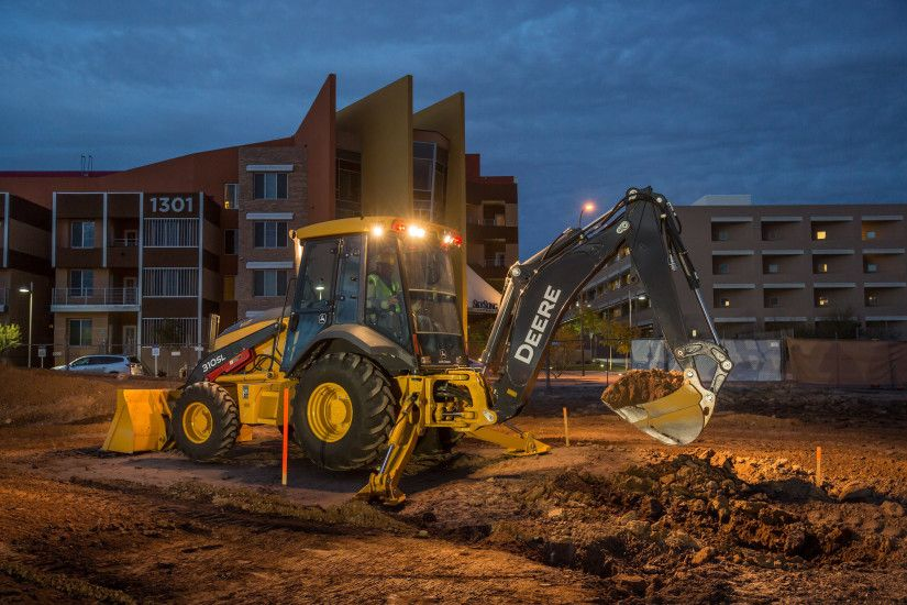 Customer Input, New Models Highlight Versatile John Deere L-Series Backhoes