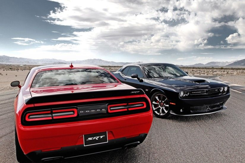 HD Wallpaper 5: Dodge Challenger SRT Hellcat 2015