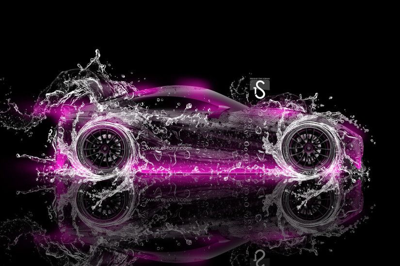 ... Toyota-FT-1-Water-Abstract-Car-2014-Pink- ...