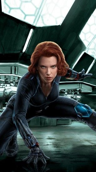 1440x2560 Wallpaper black widow, avengers, age of ultron, scarlett johansson