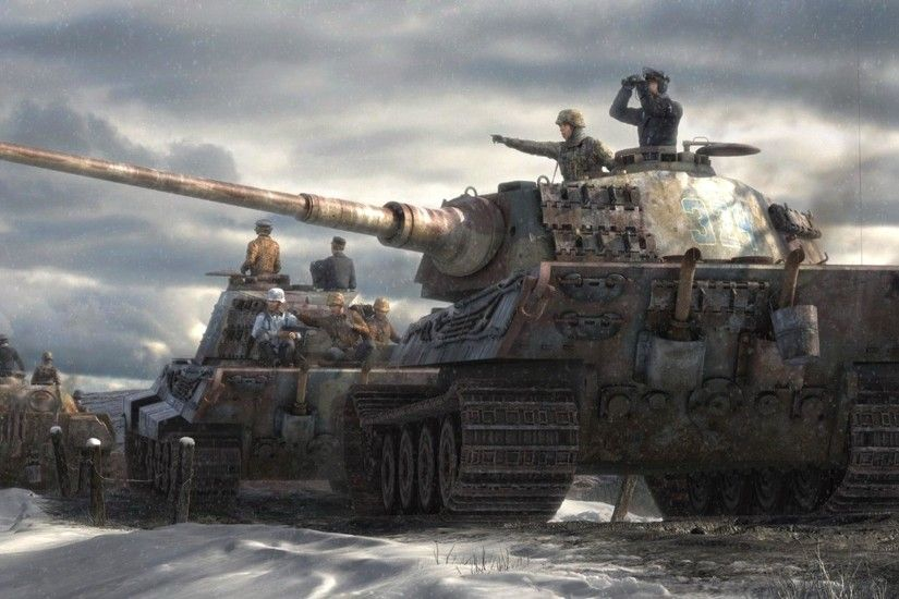 Tiger Tank Wallpapers Group with items