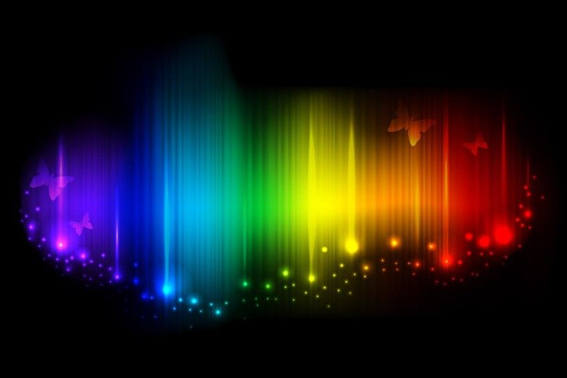 Abstract Backgrounds : The Colours of Rainbow - Rainbow Colors Abstract  Backgrounds 45