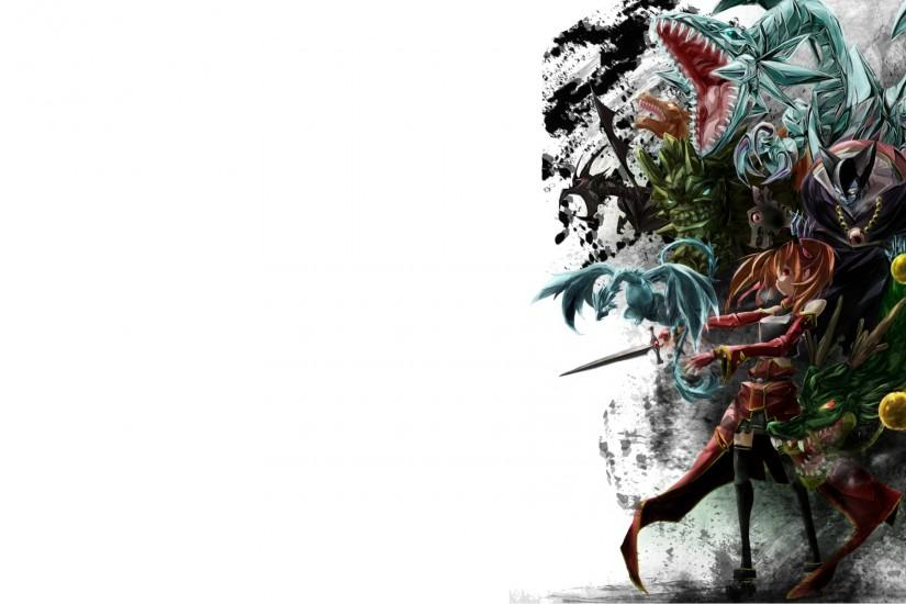 SAO White Anime monsters dragons weapons sword wallpaper background .