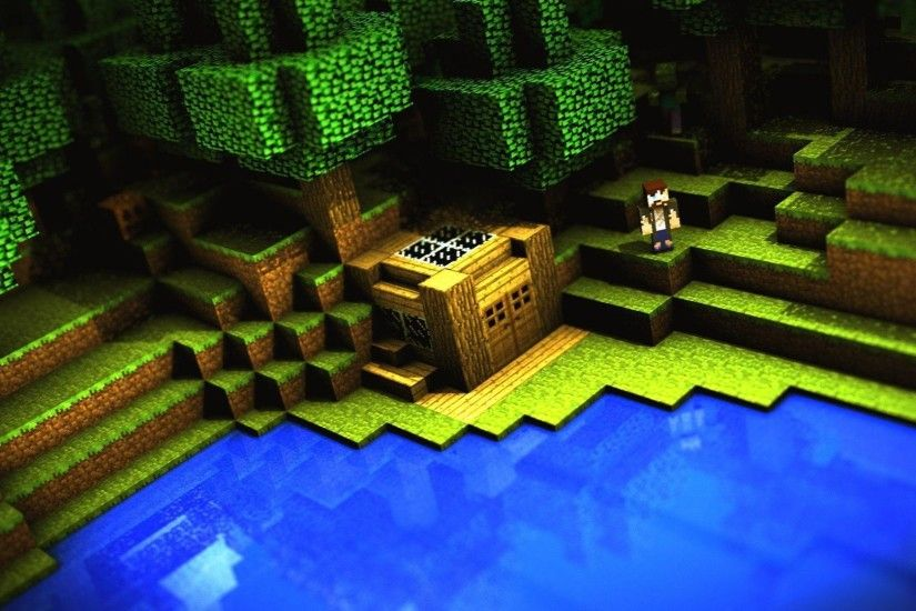 Wallpapers For > Cool Minecraft Wallpapers 1920x1080 Hd