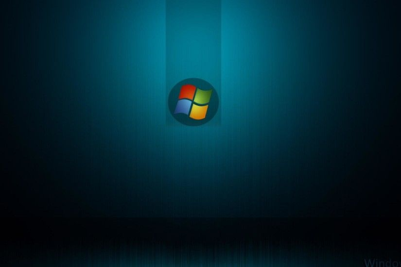 1920x1080 Windows logo dark and blue backgrounds wide  wallpapers:1280x800,1440x900,1680x1050 -