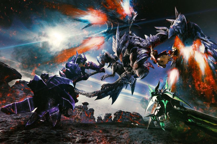 Monster Hunter Double Cross - CG-Art Wallpaper (2132 x 1198) ...