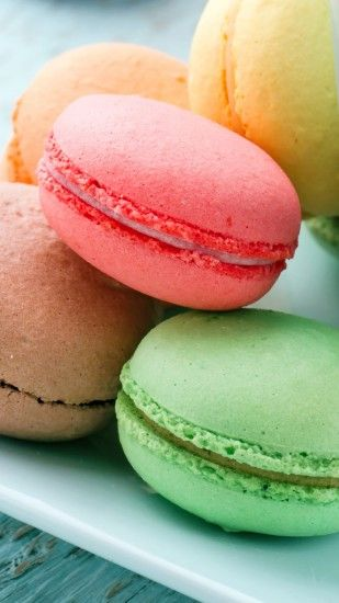 Macarons French Cake Pyramid iPhone 5 Wallpaper | Wallpapers for .