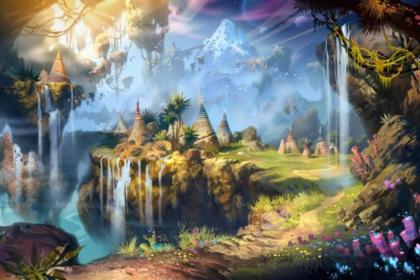 fantasy landscape wallpaper 1920x1080 for 1080p