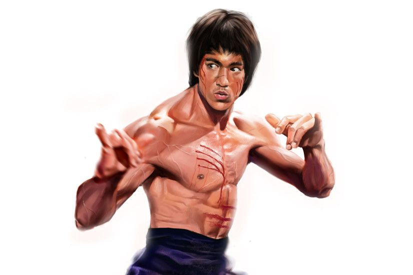 Bruce Lee Sexy Wallpapers