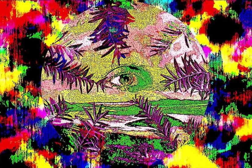 acid trip background