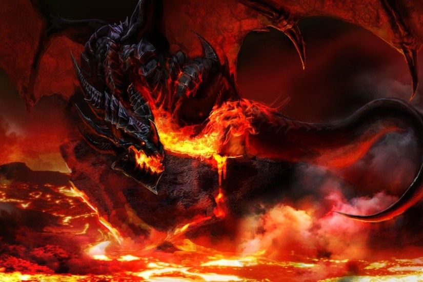 Fire Dragon Wallpaper Full HD – Wallpaper