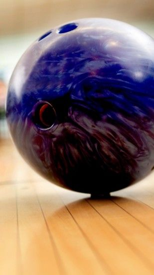 1080x1920 Wallpaper bowling, ball, blurred background