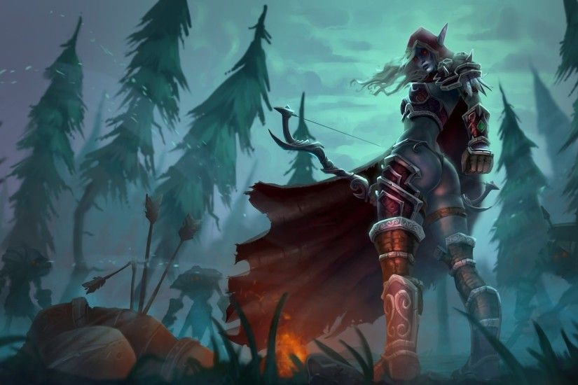 ... The Night Elf HD desktop wallpaper : High Definition : Fullscreen ...
