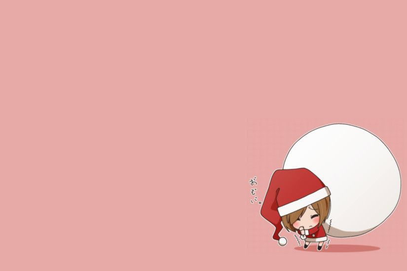 Anime Chibi Christmas