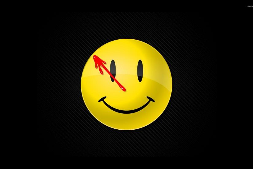 Watchmen smiley wallpaper 1920x1200 jpg