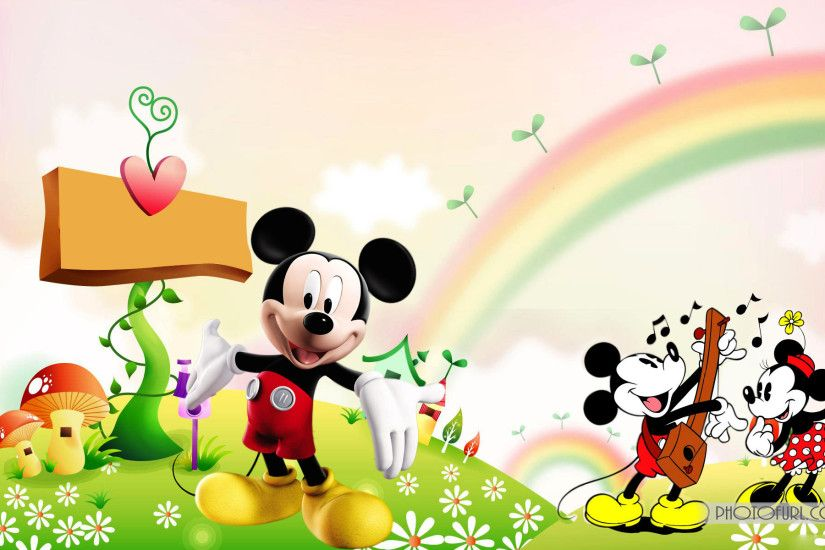 Mickey Mouse 3D wallpaper 206530
