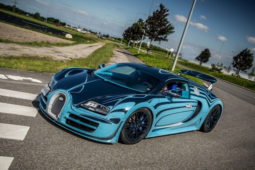 Preview wallpaper bugatti, veyron, super, sport, saphir bleu, supercar  1920x1080