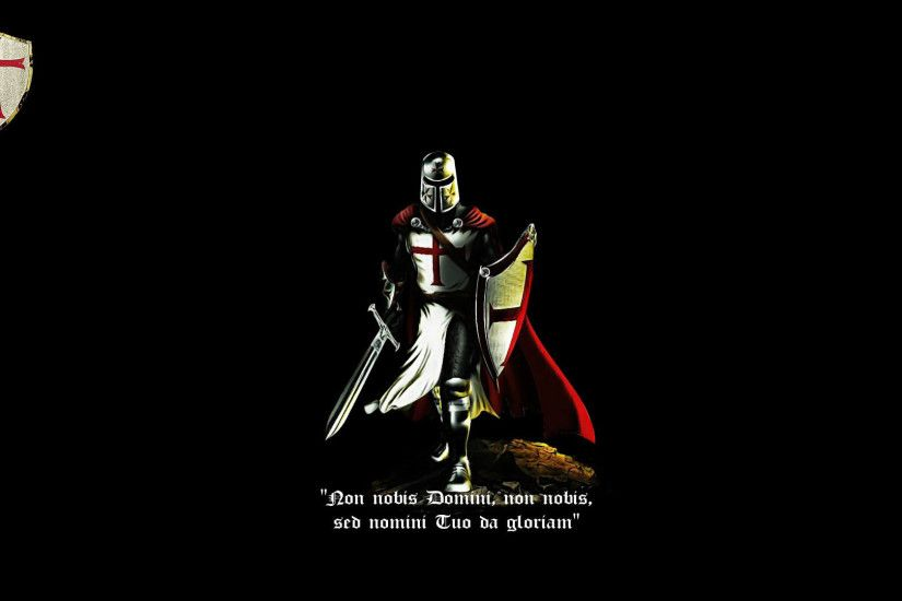 Templar Knight Wallpaper Wide