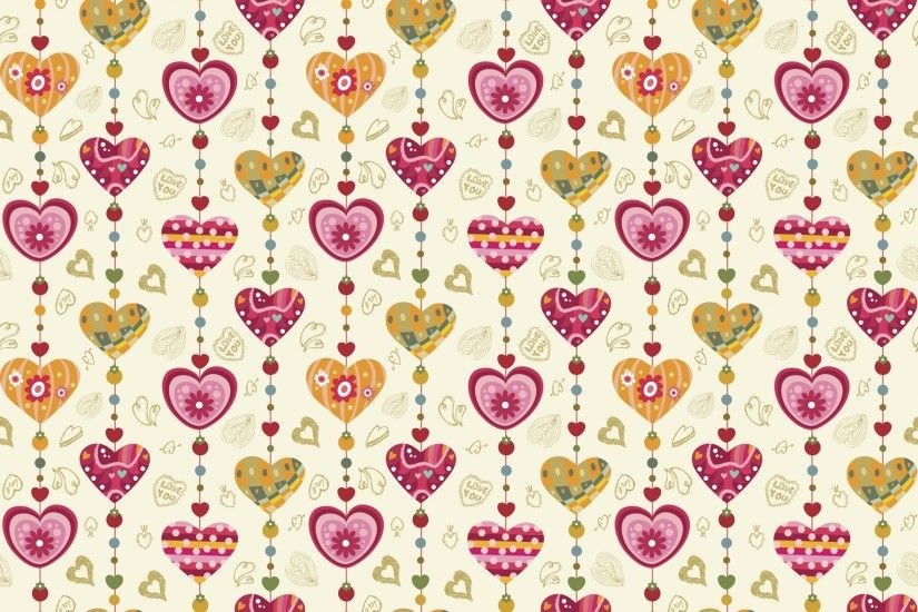 Love / Love hearts Wallpaper