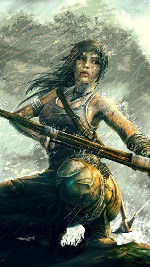 Tomb Raider Lara Croft game wallpaper for #Iphone #android #tombraider  #laracroft #