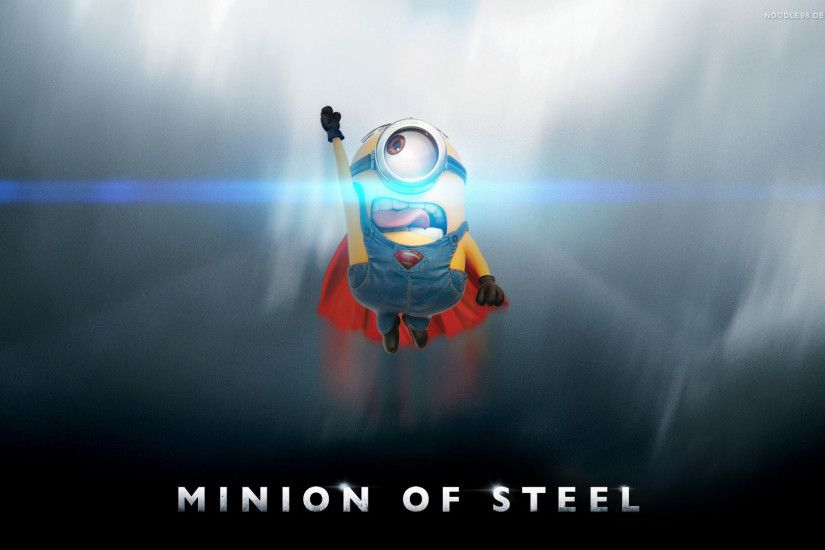 superman-minion-man-of-steel-despicable-me-2-