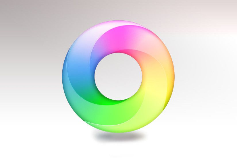 Colour Ring Wallpaper by PinguAlex Colour Ring Wallpaper by PinguAlex