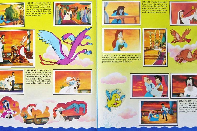 Image - Walt-Disney-Sticker-Albums-The-Little-Mermaid.jpg | Disney Wiki |  Fandom powered by Wikia