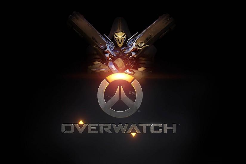 Overwatch Reaper Logo 1920x1080 wallpaper