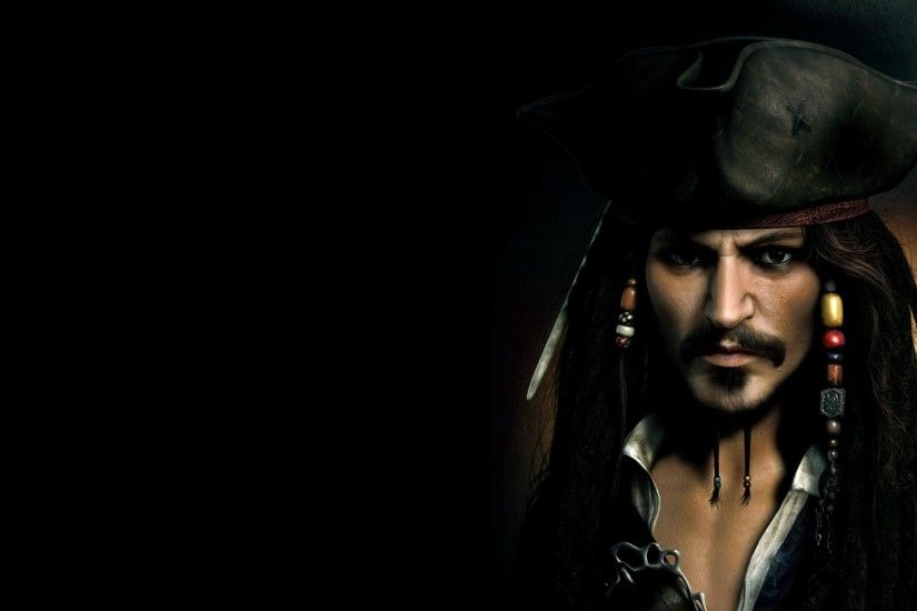 pirates of the caribbean (johnny depp as captain jack sparrow). HD Wallpaper  and background photos of Pirates-of-the-Caribbean for fans of Pirates of  the ...