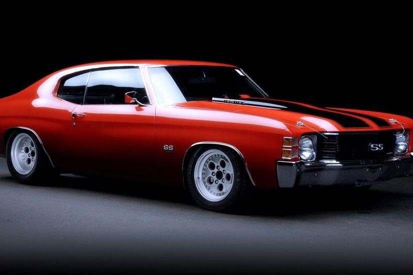 Classic Muscle Car Wallpaper