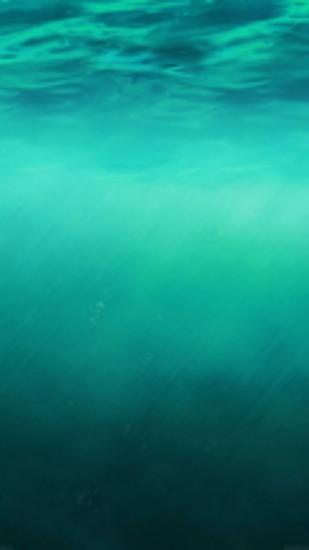 iOS8 Ocean Undersea Pure Clear Background #iPhone #6 #plus #wallpaper