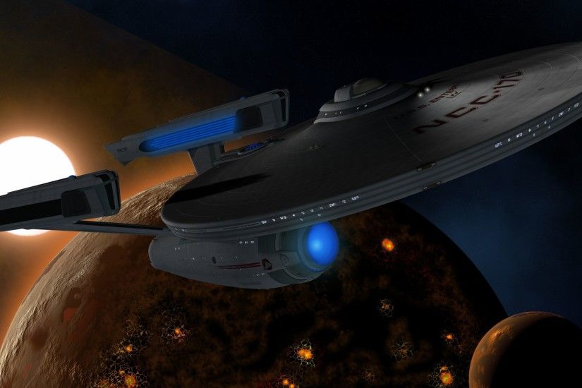 Enterprise Refit Computer Wallpapers, Desktop Backgrounds .