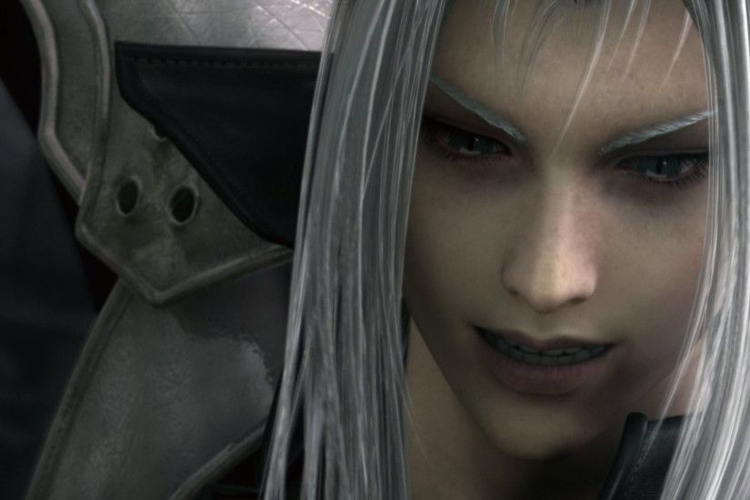 Tags: Anime, Final Fantasy VII, Sephiroth, HD Wallpaper, Facebook Cover,