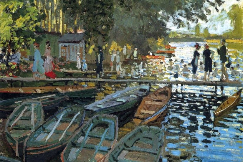 Painting Monet - Port wallpapers and images - wallpapers, pictures .