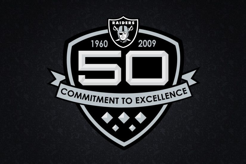 Oakland Raiders 50th anniversary in the year 2009.