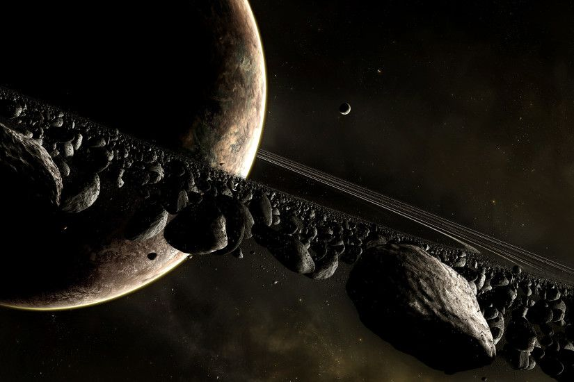 1920x1200 Wallpaper universe planet, planet, disaster, space
